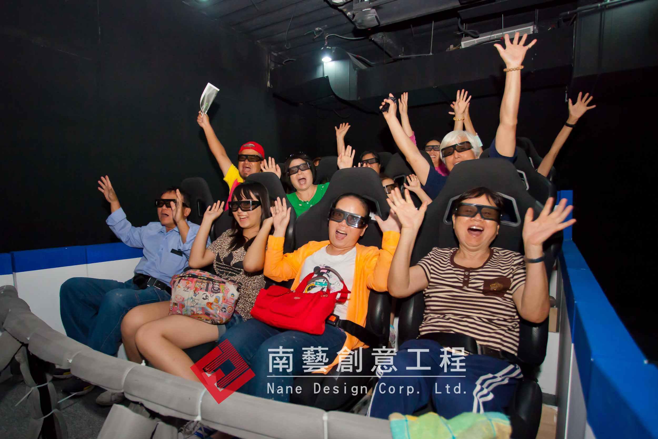 寶熊漁具「3D&4D 劇場建置」_寶熊_漁具_3D_4D_劇場